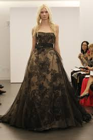 say yes to the dress black wedding dress vera wang goes for fall 2012 black bridal collection drjays