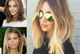 medium length hairstyles for hair parted in middle with bangs middle part hair archives page 2 of 2 hairstyles haircuts and