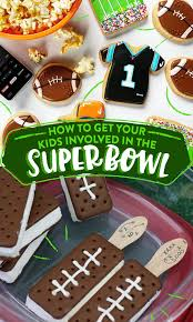 28 ways to get your kids involved in the super bowl