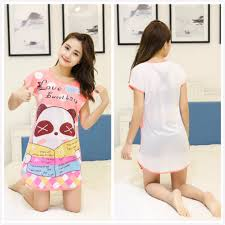 Baju Tidur panda pink cotton pajamas baju tidur s fashion