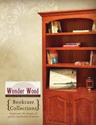 Amish Bookshelves by 2013 Wonder Wood Catalog Bookcases E U0026 G Amish Furniture By E