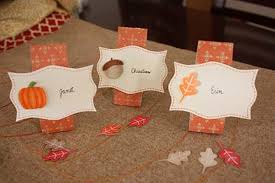 tutorial tuesday thanksgiving name cards schlosser designs
