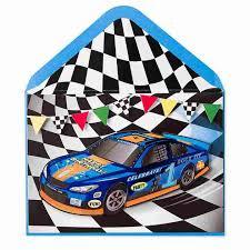 race car u0026 flags birthday kids birthday cards papyrus