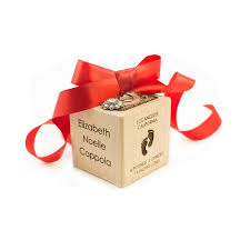 personalized baby block ornament koobik