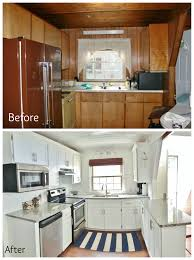 Maine Kitchen Cabinets A Frame Kitchen Remodel Refaced The Cabinets By Adding Trim And