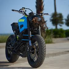 This Custom Built by This Custom Yamaha Xsr700 Is A Retina Searing Treat Bike Exif