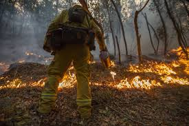 California Wildfire Names by Fire Crews Make Gains But U0027we U0027re Not Out Of The Woods U0027 Yet The