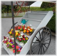 flower cart flower carts on wheels here s another view of the flower cart