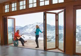 Folding Exterior Doors Contemporary Folding Doors For Modern Exterior Incredibly Cool