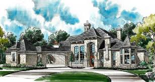 house plans with portico winged 4444 5 bedrooms and 5 baths the house designers