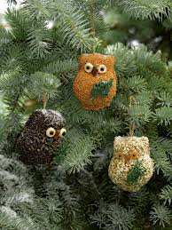 bird seed ornaments birdseed owls set of 3 gardeners