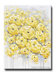 yellow gray wall art shenra com
