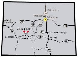 map us denver map and directions western state colorado