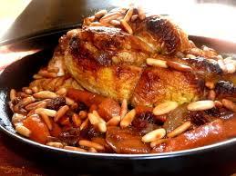 cuisiner pour amoureux recette tajine de coquelet au miel et ses carottes confites pour