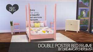 girls four poster beds four poster bed frame onlyan anon requested that i share some