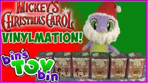 Carol Blind Santa Spike Brings Mickey U0027s Christmas Carol Vinylmation Disney