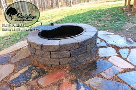 Dry Laid Flagstone Patio Stonework Examples Nashville Stonework