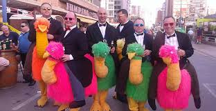 benidorm u0027s fancy dress party is becoming more popular every year