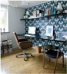 wallpaper accent wall bossy color annie elliott interior design