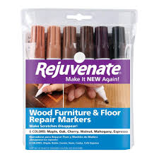 Scratches In Laminate Floor Rejuvenate Wood Furniture And Floor Repair Markers Rj6wm The