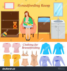 breastfeeding room clothes comfortable clothing breast stock
