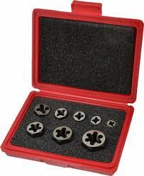 Dormer Tap And Die Set M6x1 00 To M18x1 50 Tap Metric Coarse 03959137 Msc