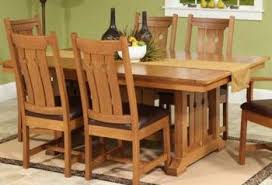Mission Style Dining Room Furniture Amish Dining Room Furniture Buffalo Lockport Ny Ohio Craft