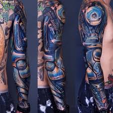 cool 3d mechanical arm tattoo designed for cool men golfian com