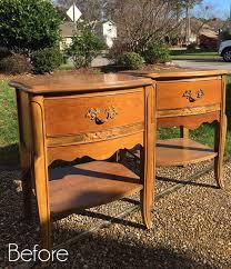 night tables for sale vintage estate sale night tables makeover other finds
