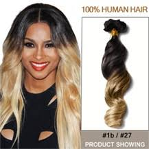 small hair 24 two colors 1b and 27 wavy ombre hair extensions small jpg