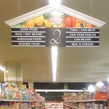 aisle markers safeway aisle signs buscar con supermarket interior