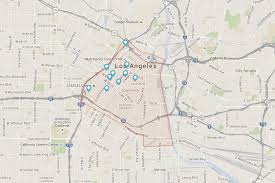 map of downtown los angeles downtown los angeles cutting edge living in la s historic