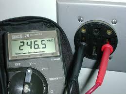 rv electrical hookups