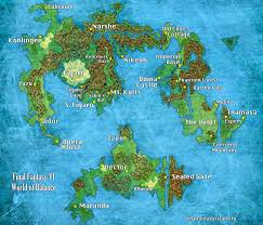 World Map Actual Size by Final Fantasy Vi World Map I