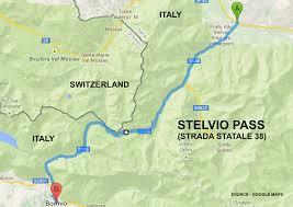 Italy Road Map by Roadrunner U0027s Bucket List Roads Italy U0027s Stelvio Pass