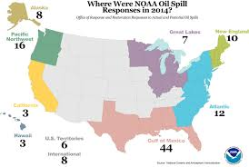 United States Map By Region by Information About Oil Spills Is At Your Fingertips Response