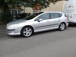 used peugeot estate cars for sale 2004 automatic peugeot 407 sw sv estate car in slough berkshire