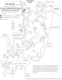 First Landing State Park Map by Fox River Paddling Fishing Pages