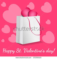 s day shopping pink happy valentines day shopping discount stock vector 372393424