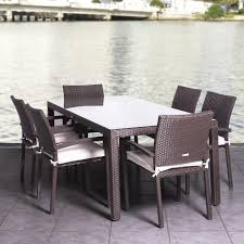 Stackable Wicker Patio Chairs Modern Furniture Modern Wicker Patio Furniture Expansive Dark