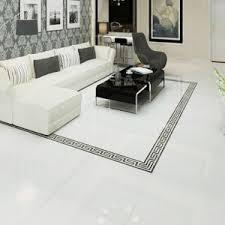 Polished Porcelain Floor Tiles China Building Material Super White Full Body Polished Porcelain