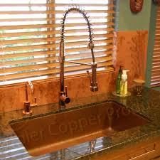 copper kitchen faucets colonnade single handle copper kitchen