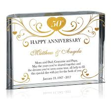 50th anniversary gift happy 50th anniversary gift for grandparents 147 1 wording