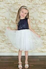 navy u0026 white sequin dress fancy pants