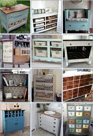 kitchen dresser ideas 11 pretty and clever ideas to repurpose drawers dressers and