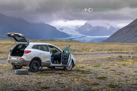 land rover iceland enter iceland man and drone