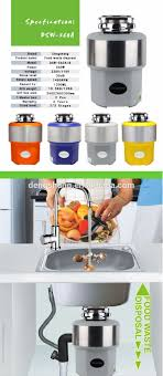Kitchen Sink Food Grinder Crusher Machine With W Buy Sink - Kitchen sink crusher