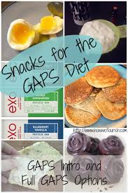 gaps diet snacks healthy snack ideas for intro and full gaps