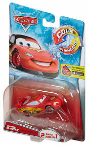 amazon com disney pixar cars color changers lightning mcqueen