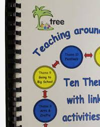 teaching around a theme tree ecd training and resources in